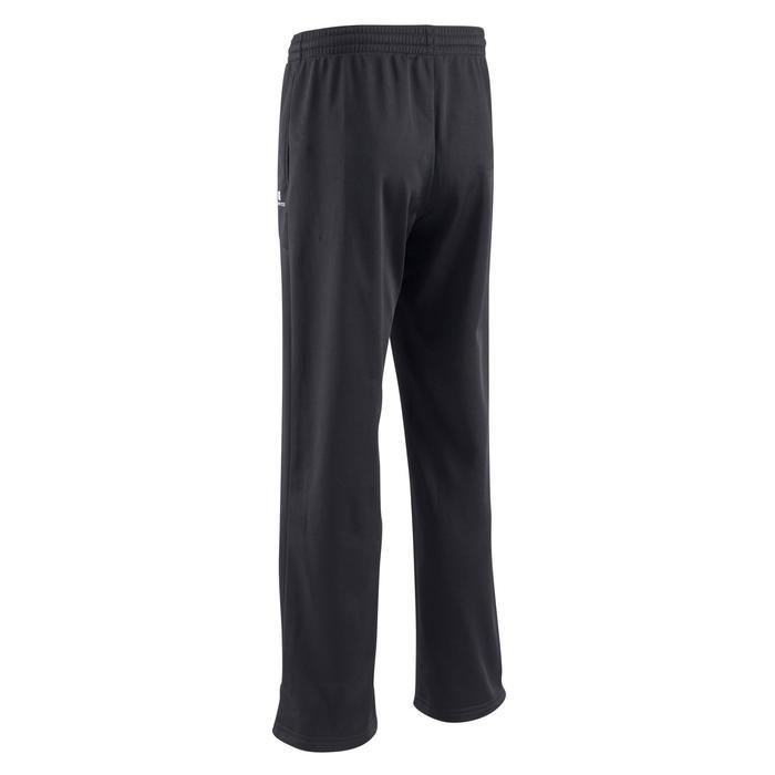 Warme gymbroek voor jongens GYM'Y S500 synthetisch ademend zwart