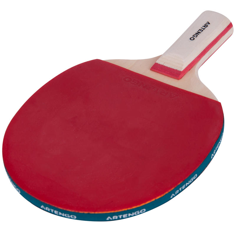 FR 130 Short *CN Free Ping Pong Bat - Red/Black