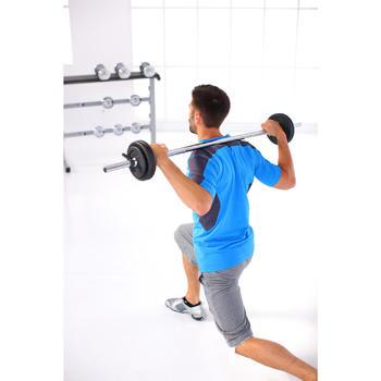 Kit haltères et barres musculation kit 93 kg - 266290