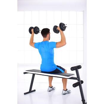 Kit mancuernas musculación kit 20 kg
