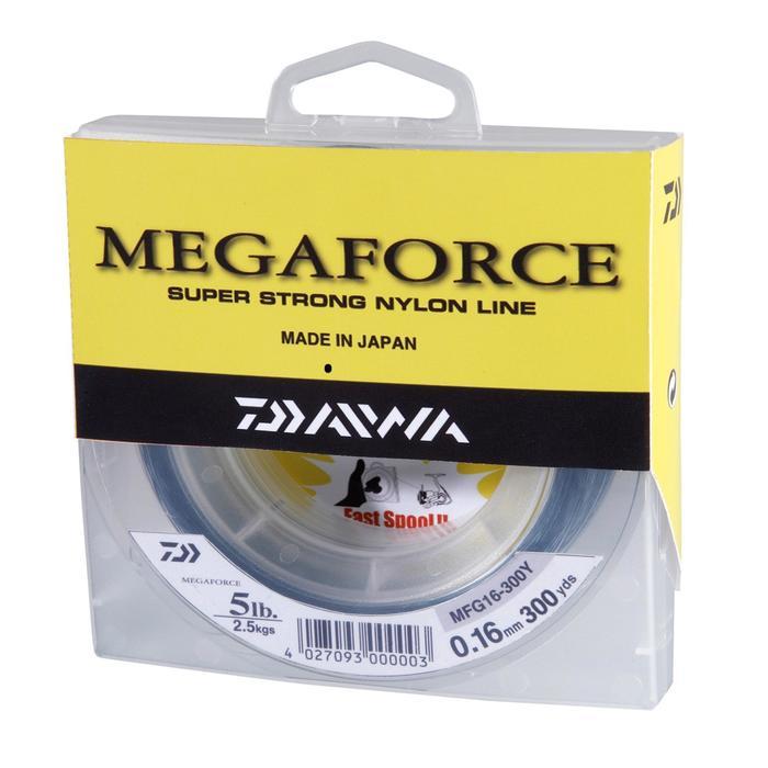Angelschnur Megaforce 270m 0,40mm grau