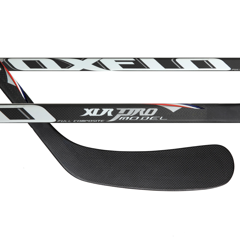 Oxelo Hockeystick XLR PRO Model voor volwassenen blauw/wit/rood