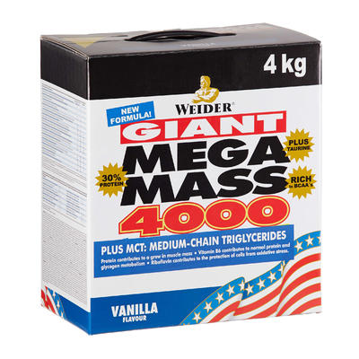 Prise de masse GIANT MEGA MASS 4000 vanille 4kg