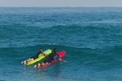 Heren shorty 100 voor surfen neopreen - 267658