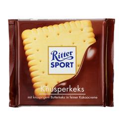Galleta de mantequilla con chocolate para el deporte 100 g