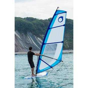 Windsurf mast base met push pin