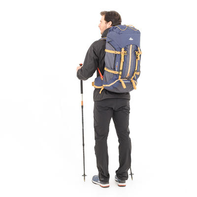 תרמיל גב לטיולים דגם Easyfit 50 ל' לגברים - כחול