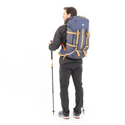 Easyfit Men's 50-Litre Mountain Trekking Backpack - Blue