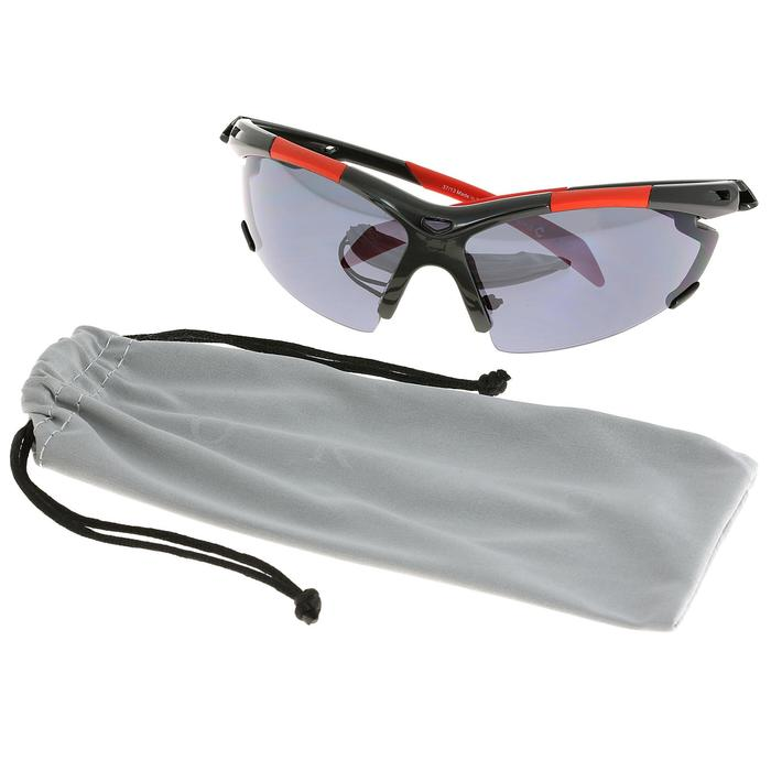 Lunettes de soleil vélo & running adulte ARROYO PACK grises verres changeables - 269579