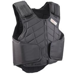 Bodyprotector Smartrider voor kinderen, ruitersport, zwart - 269833