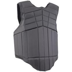 Bodyprotector Smartrider voor kinderen, ruitersport, zwart - 269834