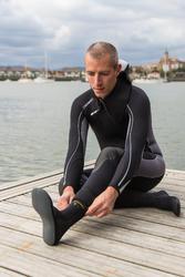 Zapatos acuáticos sin suela de submarinismo con botella Beheko SCD 500 3 mm