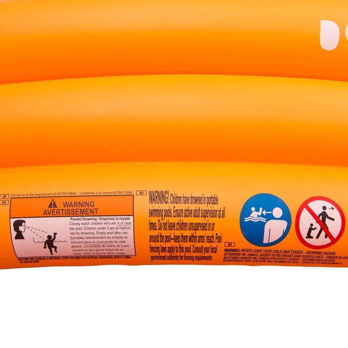 Piscine gonflable ronde munie de trois boudins largeur 152cm hauteur 30cm - 27003