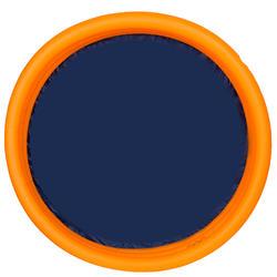 Rond oranje opblaasbaar zwembadje met 3 banden van 152 cm diameter en 30 cm hoog - 27005
