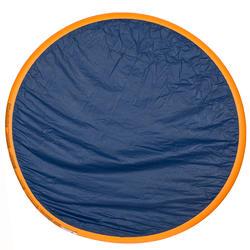 Rond oranje opblaasbaar zwembadje met 3 banden van 152 cm diameter en 30 cm hoog - 27011