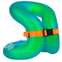 Opblaasbaar zwemhulpmiddel Neckvest groen