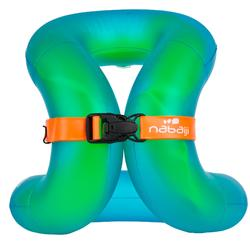 Swimming inflatable vest 18-30 kg - Green
