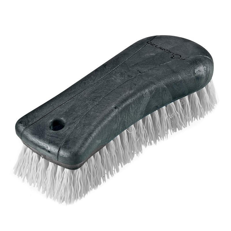 Schooling Large Horse Riding Dandy Brush - Grey
