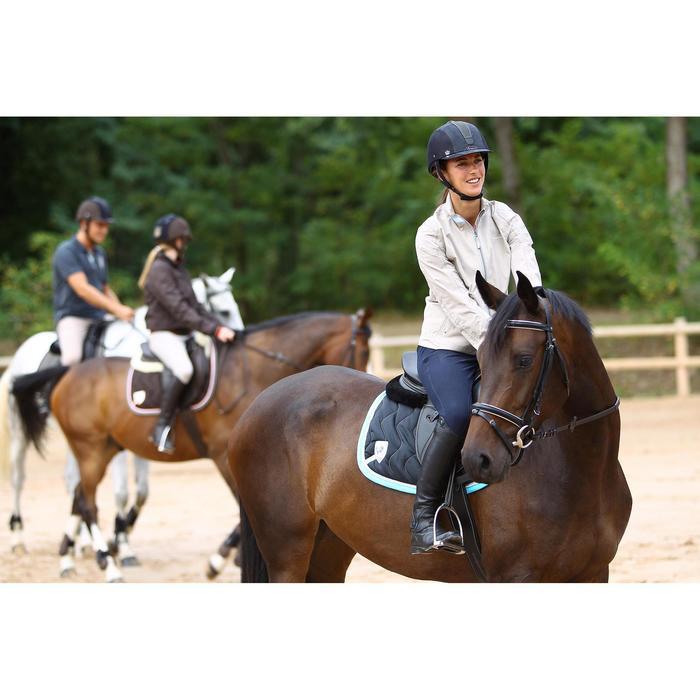 Amortisseur de dos équitation cheval et poney LENA noir - 271510