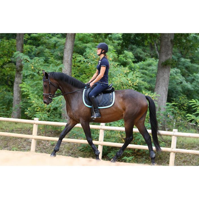 Amortisseur de dos équitation cheval et poney LENA noir - 271511