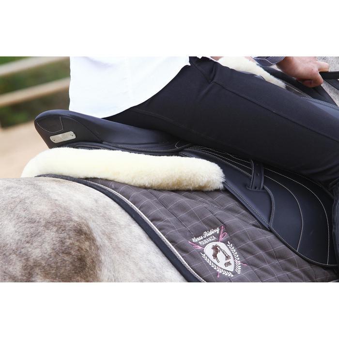 Salvacruz de lana para equitación dorso de caballo y poni LENA beige