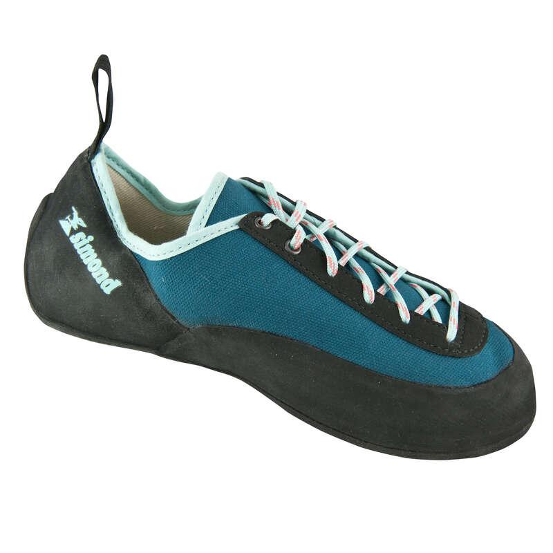 CLIMBING SHOES & SLIPPERS Climbing - BEGINNER ROCK BLUE Climbing Shoes SIMOND - Climbing