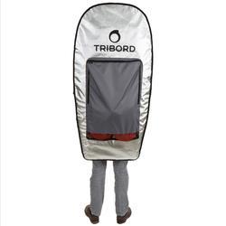 Boardbag voor reizen voor 3 bodyboards