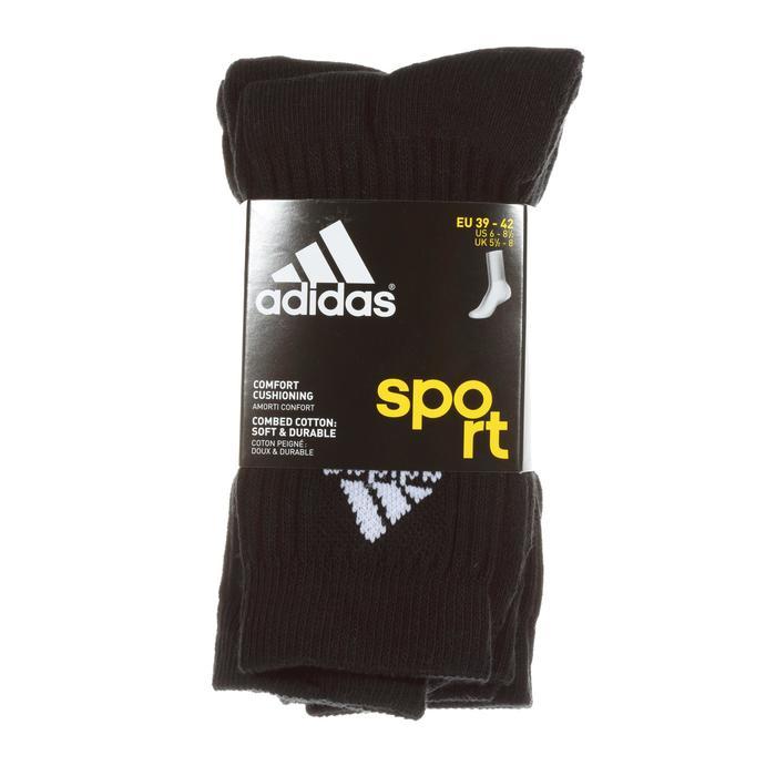Tennissocken Basic High 3er Pack schwarz