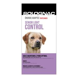 Pienso Perro Caza Solognac Alimentación Senior Light Control 12 kg
