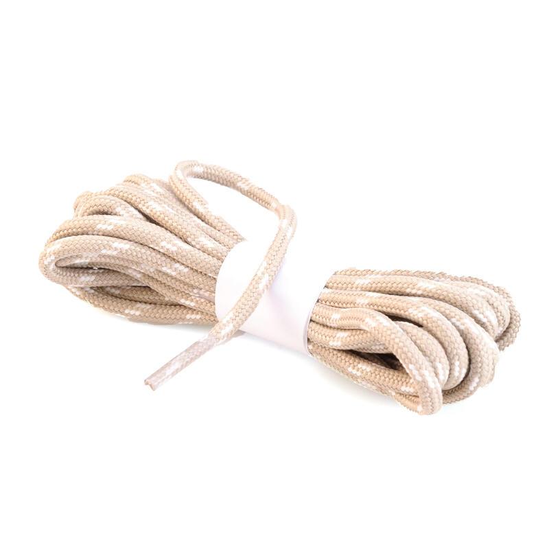 Lacets ronds pour chaussures de randonnée crème