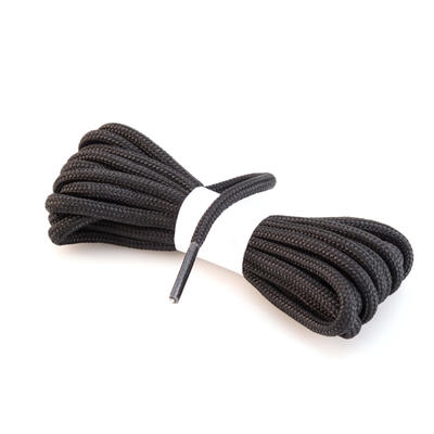 Round Hiking Boot Laces - Black