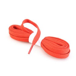 Flat Hiking Laces Red