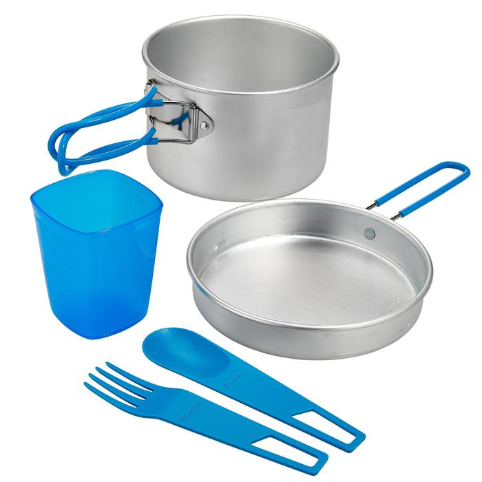 Popote camp du randonneur aluminium 1 personne (1 litre) - 273505