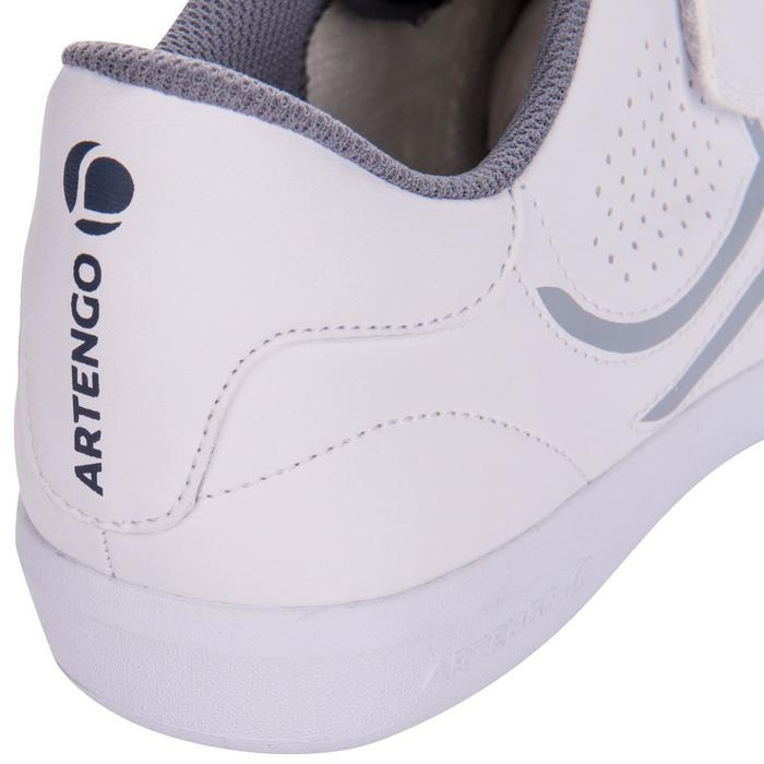 Tennisschoenen voor heren TS100 Strap wit multicourt