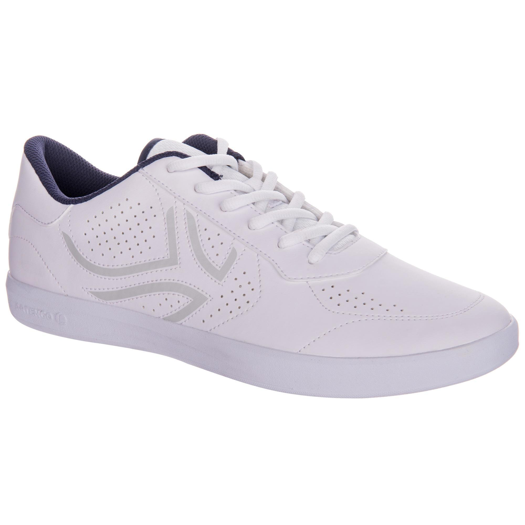 Tennisschuhe TS100 mit Schnürung Multicourt Herren weiß | Schuhe > Sportschuhe > Tennisschuhe | Weiß | Artengo