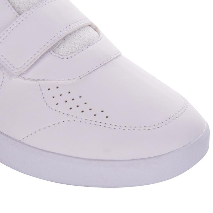 Zapatillas Tenis hombre TS100 Tira blanco multi court
