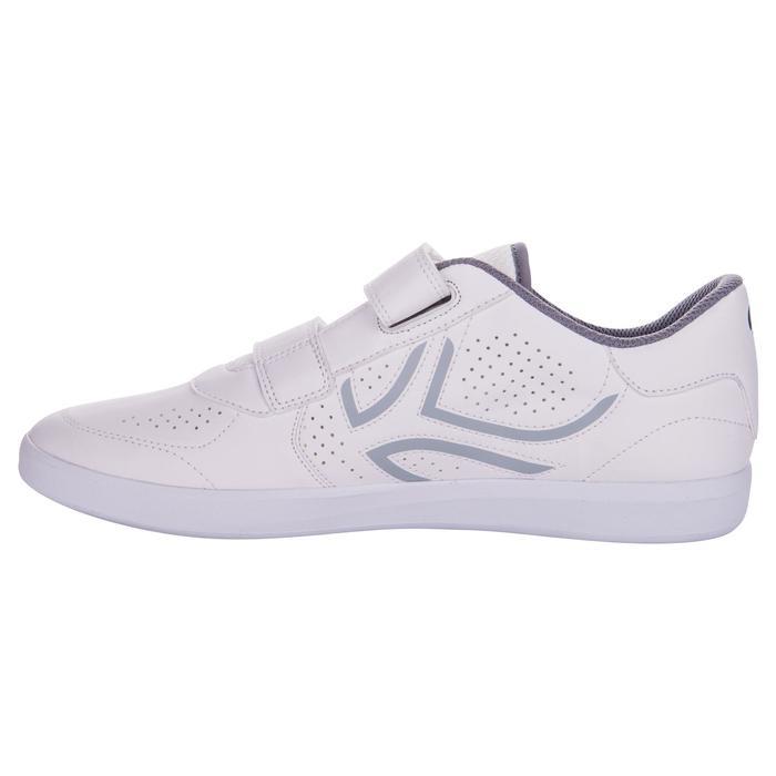 Tennisschoenen voor heren TS700 klittenband wit