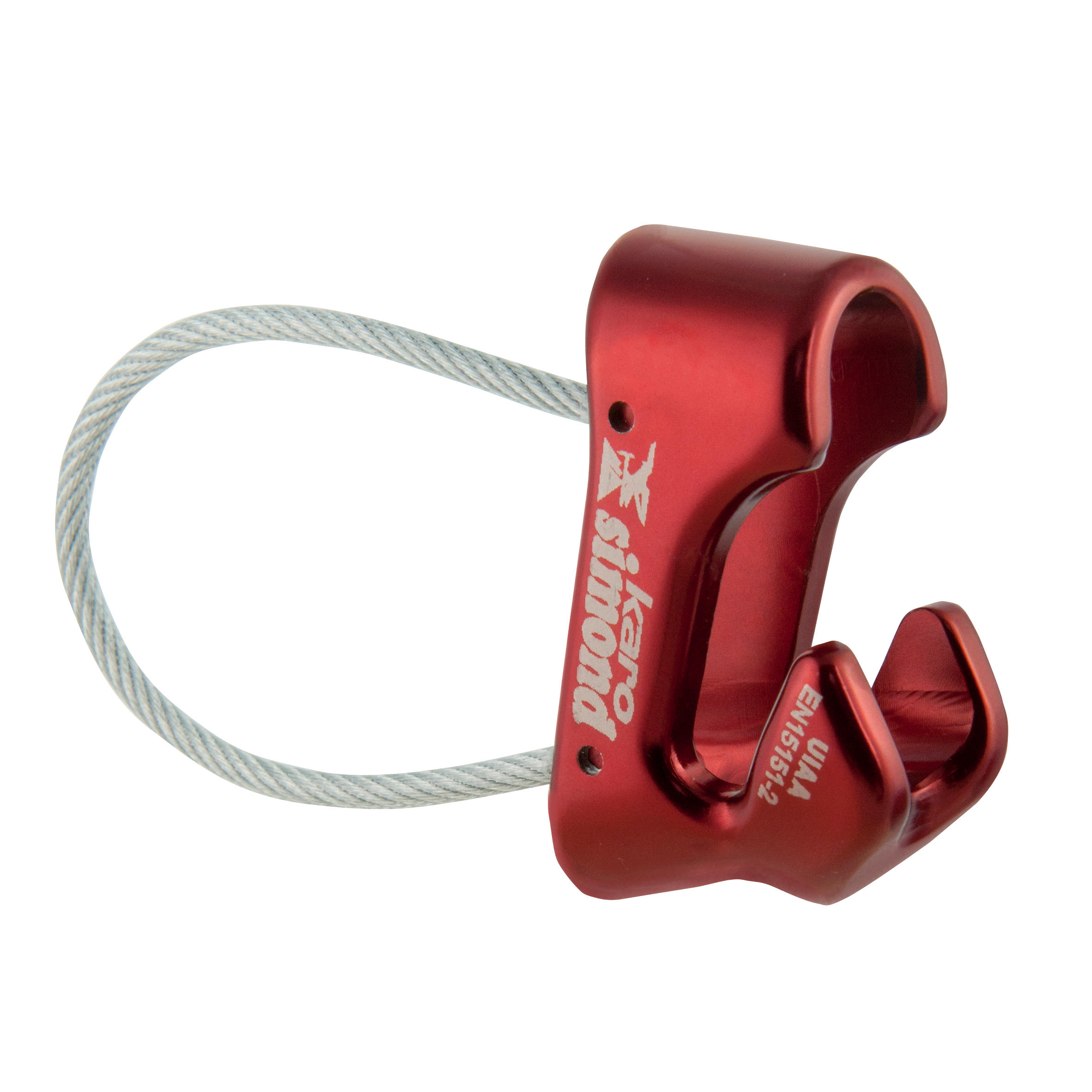 Karo Belay Device - Red