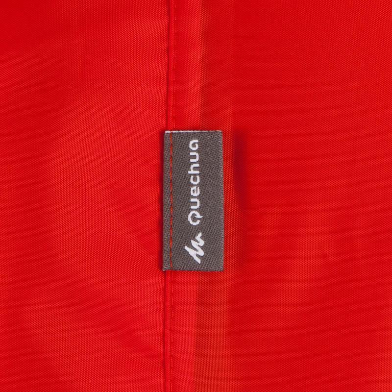 Áo mưa choàng đi bộ trekking Forclaz 75 lít cỡ S/M - Đỏ
