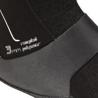 Chaussons Surf 500 Bottillons Néoprène 3 mm - noir