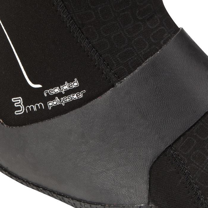 Chaussons Surf 500 Bottillons Néoprène 3 mm noir - 276087
