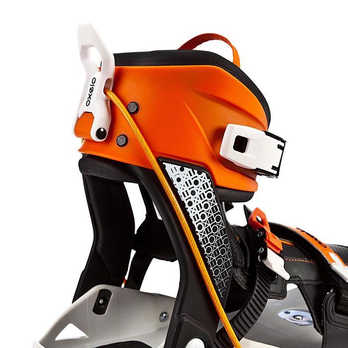 Roller adulte mobilité urbaine SNEAK-IN orange noir - 276157