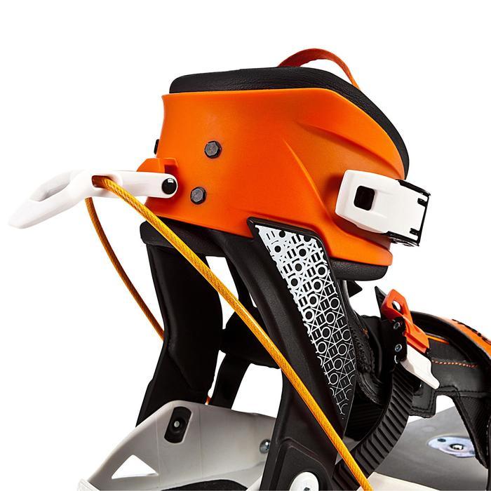 Urban skeelers voor volwassenen Sneak-In oranje zwart