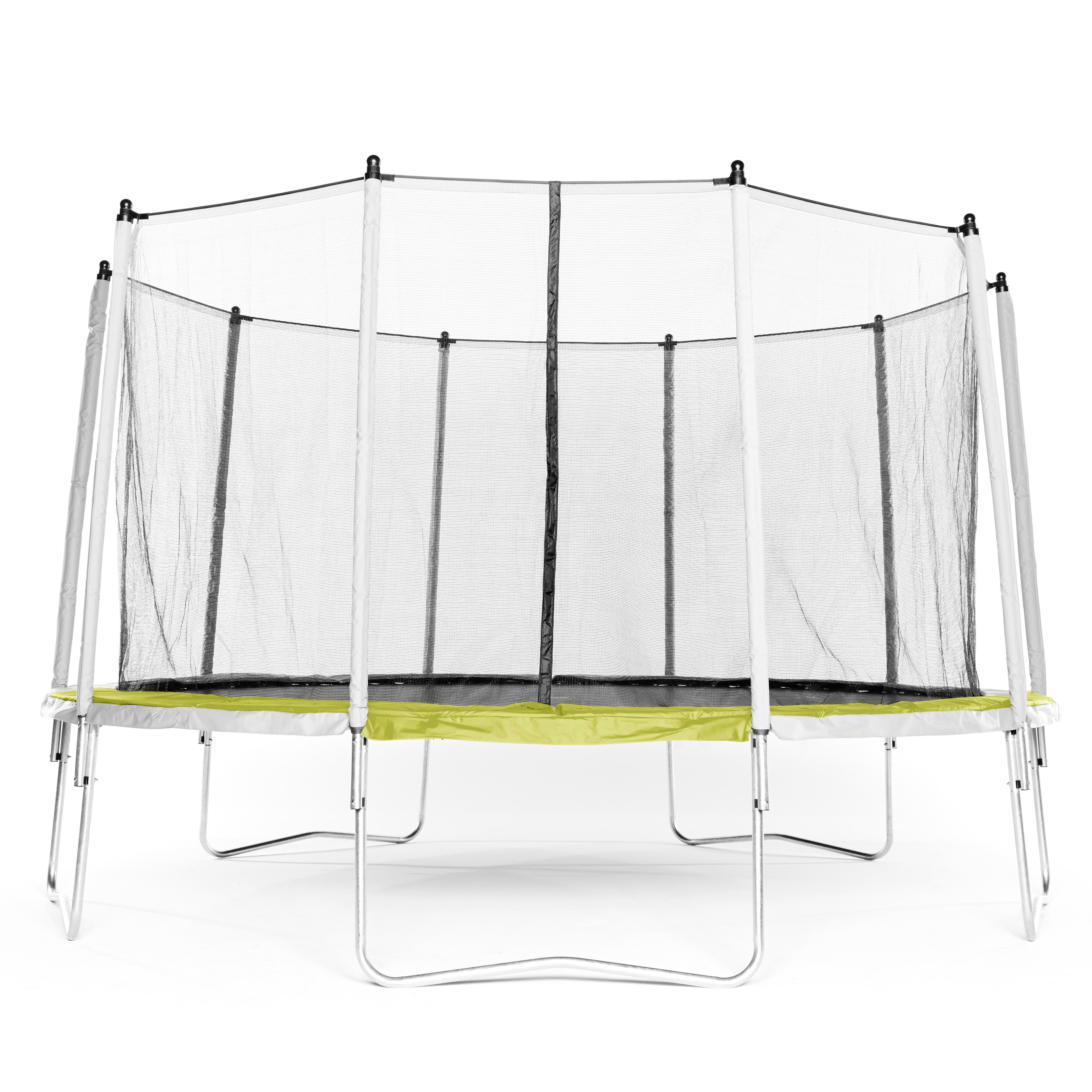 Essential 420 Trampoline and Protective Netting - Green