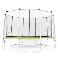 Trampoline Essential 420 vert + filet de protection