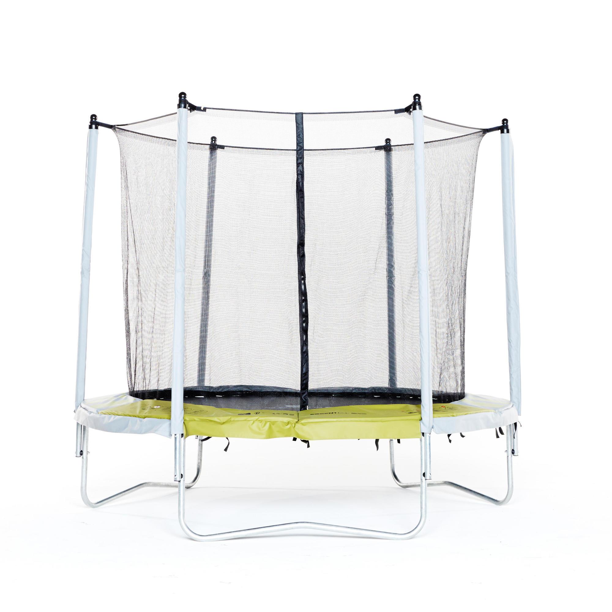 trampoline essential 240 vert filet de protection domyos by decathlon. Black Bedroom Furniture Sets. Home Design Ideas