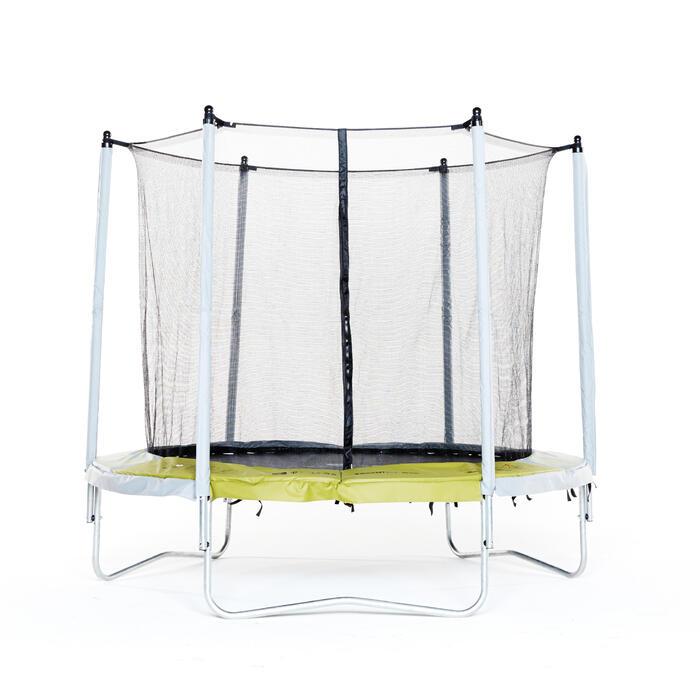 Trampoline ESSENTIAL 240 vert + filet de protection - 276249