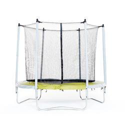 Cama elástica ESSENTIAL 240 verde + red de protección