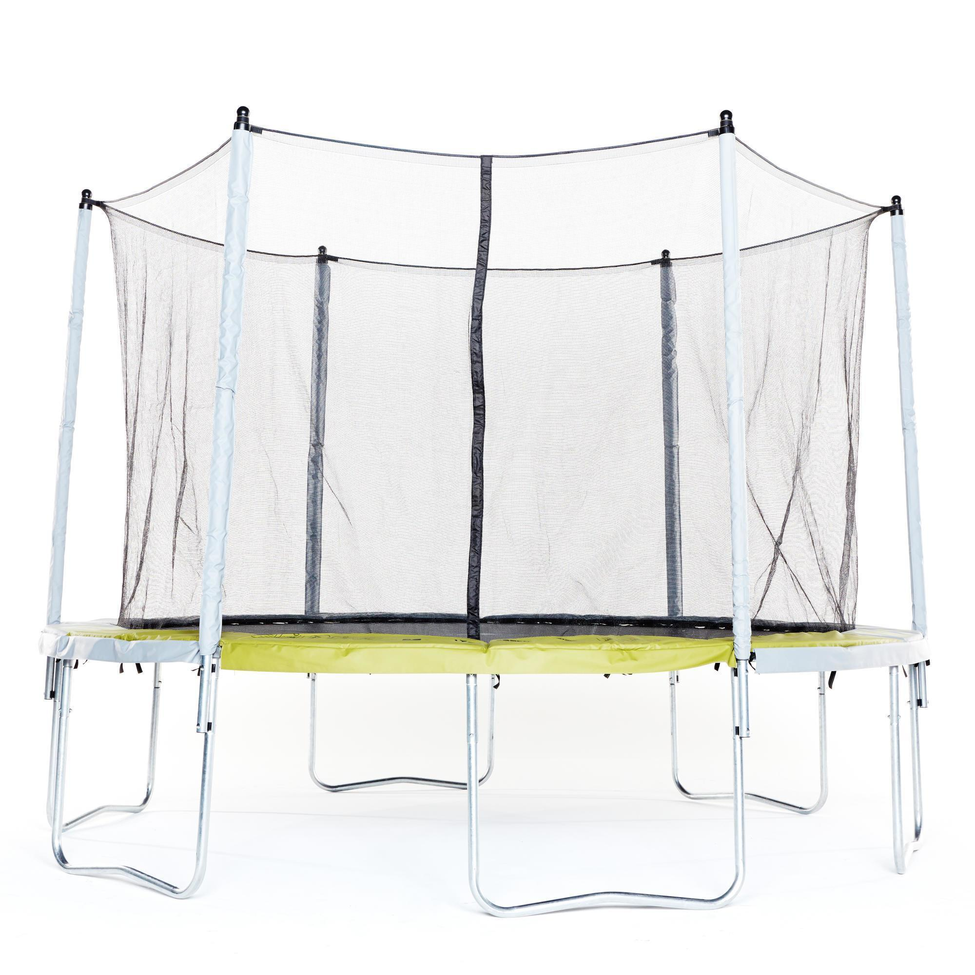 trampoline essential 365 vert filet de protection domyos by decathlon. Black Bedroom Furniture Sets. Home Design Ideas
