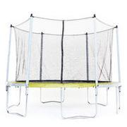 Zelen trampolin ESSENTIAL 365 z zaščitno mrežo